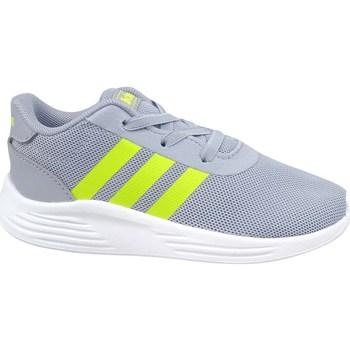 Sapatos Criança Sapatilhas adidas Originals Lite Racer 2 Cinzento, Verde claro