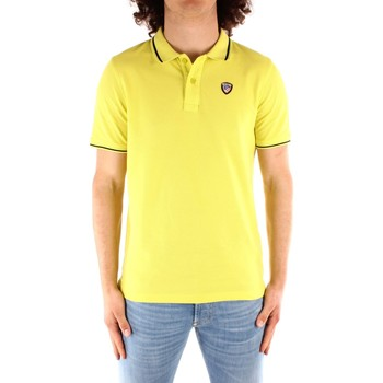 Textil Homem Polos mangas curta Blauer 21SBLUT02272 Amarelo