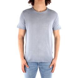 Textil Homem T-Shirt mangas curtas Blauer 21SBLUM01319 Azul