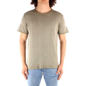 Textil Homem T-Shirt mangas curtas Blauer 21SBLUM01319 Verde