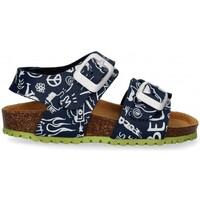Sapatos Rapaz Sandálias Garvalin 54897 azul