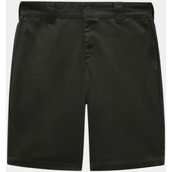 Textil Homem Shorts / Bermudas Dickies Slim fit short Verde