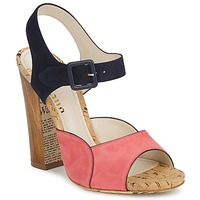 Sapatos Mulher Sandálias John Galliano AN3571 Rosa / Marinho