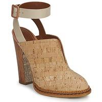 Sapatos Mulher Tamancos John Galliano AN9211 Bege