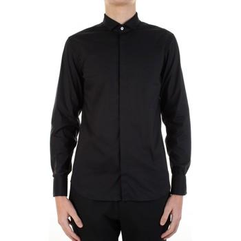 Textil Homem Camisas mangas comprida Manuel Ritz 3030E652-213229 Preto