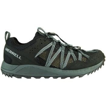 Sapatos Mulher Sapatilhas Merrell Wildwood Aerosport Preto, Cinzento