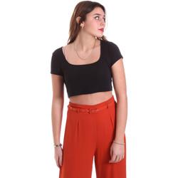 Textil Mulher Tops / Blusas Vicolo UK0291 Preto