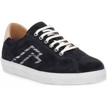Sapatos Homem Sapatilhas Frau AMALFI BLU LATTE Blu