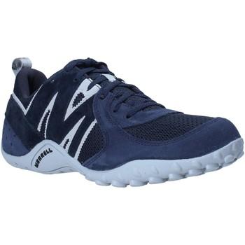 Sapatos Homem Sapatilhas Merrell J598439 Azul