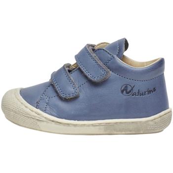 Sapatos Criança Sapatilhas de cano-alto Naturino 2012904 16 Azul
