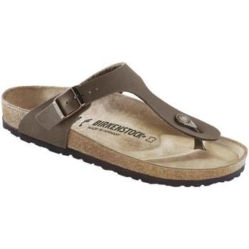 Sapatos Homem Chinelos Birkenstock 043751 Castanho