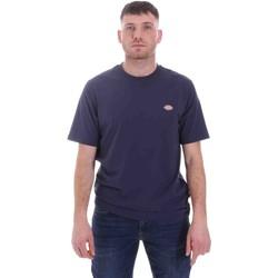 Textil Homem T-Shirt mangas curtas Dickies DK0A4XDBNV01 Azul