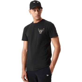 Textil Homem T-Shirt mangas curtas New-Era 12590868 Preto