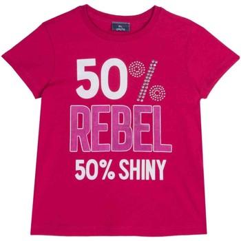 Textil Criança T-Shirt mangas curtas Chicco 09067157000000 Rosa