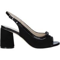 Sapatos Mulher Sandálias Melluso HS548 Preto