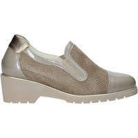 Sapatos Mulher Slip on Melluso R30721 Bege
