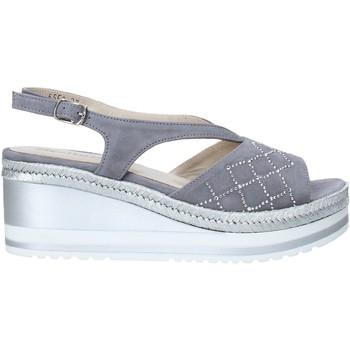Sapatos Mulher Sandálias Melluso HR70734 Cinzento