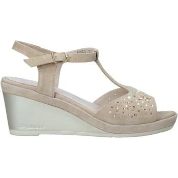 Sapatos Mulher Sandálias Melluso HR70511 Bege