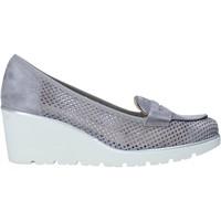 Sapatos Mulher Slip on Melluso HR20509 Cinzento