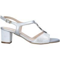 Sapatos Mulher Sandálias Melluso K95350 Prata