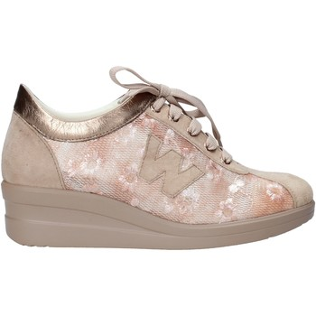 Sapatos Mulher Sapatilhas Melluso HR20128 Bege