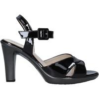 Sapatos Mulher Sandálias Melluso HR50137 Preto