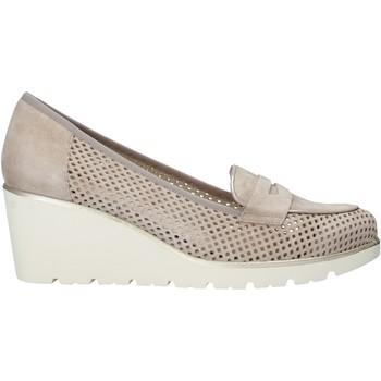 Sapatos Mulher Slip on Melluso HR20509 Bege
