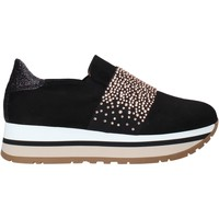 Sapatos Mulher Slip on Grace Shoes GLAM007 Preto