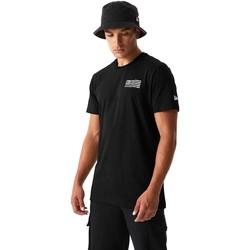 Textil Homem T-shirts e Pólos New-Era 12590875 Preto