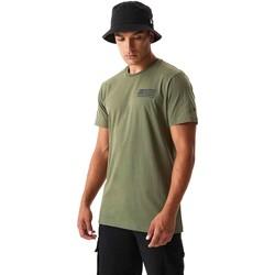 Textil Homem T-shirts e Pólos New-Era 12590874 Verde