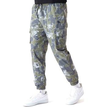 Textil Homem Calças New-Era 12590879 Verde