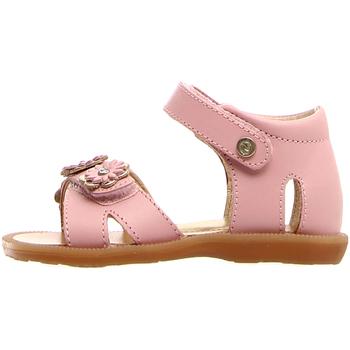 Sapatos Criança Sandálias Naturino 502671 01 Rosa