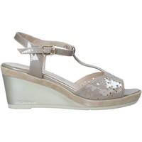 Sapatos Mulher Sandálias Melluso HR70520 Bege