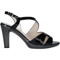 Sapatos Mulher Sandálias Melluso HR50138 Preto