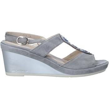 Sapatos Mulher Sandálias Melluso HR70513 Cinzento