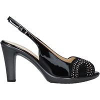 Sapatos Mulher Sandálias Melluso HR50117 Preto