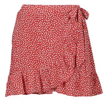 Textil Mulher Saias Betty London OLINDA Vermelho / Branco