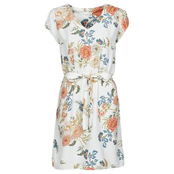 Textil Mulher Vestidos curtos Betty London OWAKA Branco / Multicolor