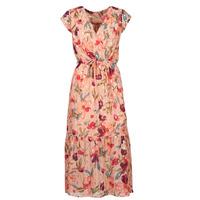 Textil Mulher Vestidos compridos Moony Mood OLICA Rosa / Multicolor