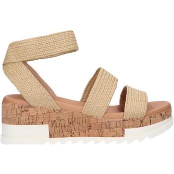 Sapatos Mulher Sandálias Steve Madden BANDI Beige