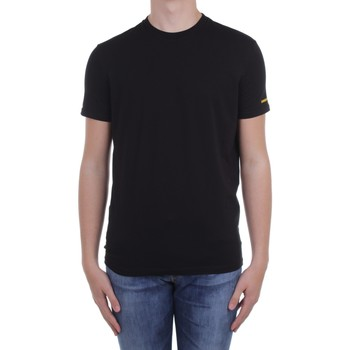 Textil Homem T-Shirt mangas curtas Dsquared2 Underwear D9M203540 Preto