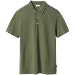 Textil Polos mangas curta Napapijri  Verde