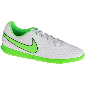 Sapatos Homem Desportos indoor Nike Tiempo Legend 8 Club IC Blanc