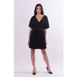 Textil Mulher Vestidos curtos Fracomina FQ21SD1002W412F9 Preto