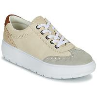 Sapatos Mulher Sapatilhas Geox KAULA Cinza
