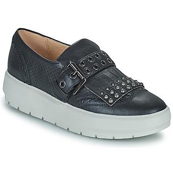 Sapatos Mulher Sapatilhas Geox KAULA Preto
