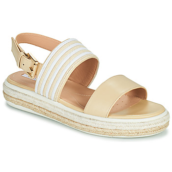 Sapatos Mulher Sandálias Geox LEELU Bege
