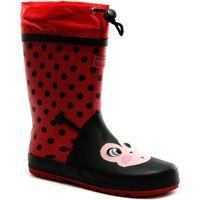 Sapatos Criança Botas de borracha Dare 2b  Vermelho/Preto Sólido
