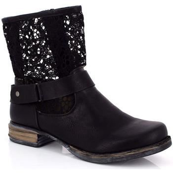 Sapatos Mulher Botins Kimberfeel ANAELLE Preto