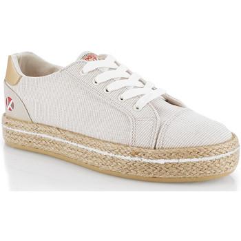 Sapatos Mulher Sapatilhas Kimberfeel CAMILIA Bege